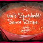 Free! My To Die For Meat Spaghetti Sauce Recipe and Meal Planning Resource