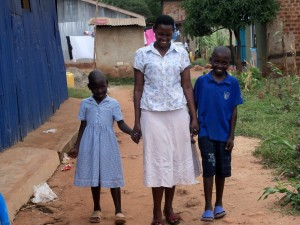 Mother sponsored through The Lulu Tree in Uganda
