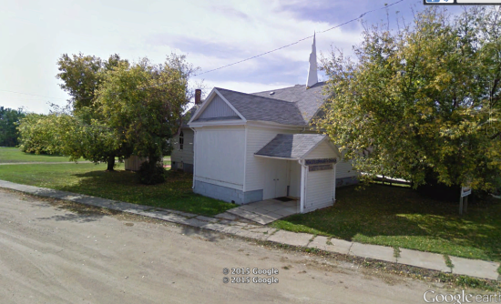 Kuroki Baptist Church, Saskatchewan, Church